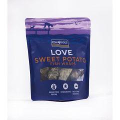 Fish4Dogs Sea Wraps Sweet Potato 100g
