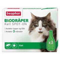 Beaphar Bio Flåttdråper til katt