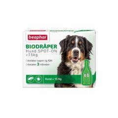 Beaphar Bio Flåttdråper hund over 15kg
