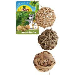 Jr Farm Natur Ball Trio 8cm