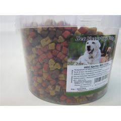 Petsnack Mini Hjerte Mix 1,8 kg