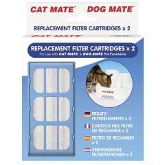Cat Mate filter til drikkefontene 2pk