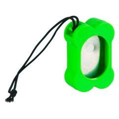 Klikker hundebein grønn