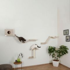 Klatrevegg Mount Everest med 2 katter