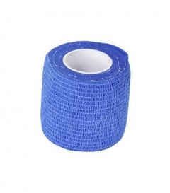 Bandasje til hund selvklebende blå