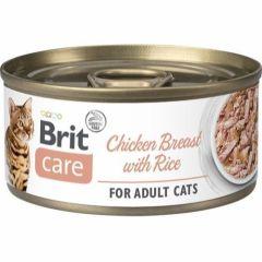 Brit Care Cat Chicken & Ris 70g