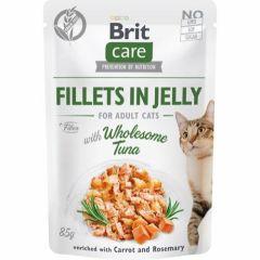 Brit Care Cat Filet Jelly Tuna 85g