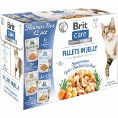 Brit Care Cat Flavour Box Jelly 12x85g