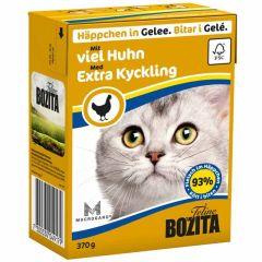 Bozita Biter i Gelé med Kyllingkjøtt 370g