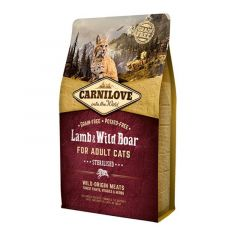 Carnilove Lamb & Wild Boar Sterilized Adult Cats 2kg