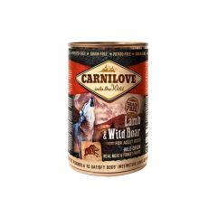 Carnilove Canned Lamb & Wild Boar 400g