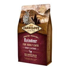 Carnilove Reindeer Adult Cat Energy & Outdoor 2kg
