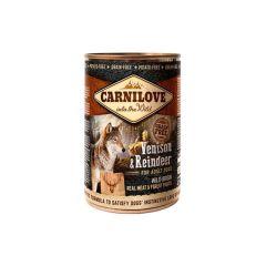 Carnilove Canned Venison & Reindeer 400g