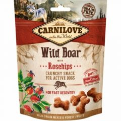 Carnilove Crunchy Snack Villsvin & Nype
