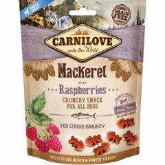 Carnilove Crunchy Snack Makrell & Bringebær