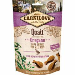 Carnilove Soft Snack Vaktel & Oregano