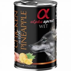 Alpha Spirit Våtfôr Chicken & Pineapple 400g