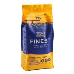 Fish4Dogs Adult Finest med hvit fisk små biter 6kg
