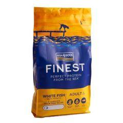 Fish4Dogs Adult Finest med hvit fisk 6kg