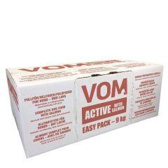 Vom Active fullfor med laks Easy pack klosser 9 kg
