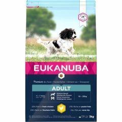 Eukanuba Adult Medium Breed 3kg