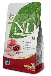 Farmina Cat N&D Grain Free Chicken & Pomegranate Kitten 1,5kg