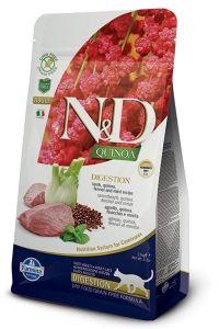 Farmina Cat N&D Quinoa Digestion Lamb Adult 1,5kg
