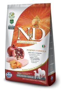 Farmina Dog N&D Pumpkin Chicken & Pomegranate Adult Medium/Maxi 2,5 kg
