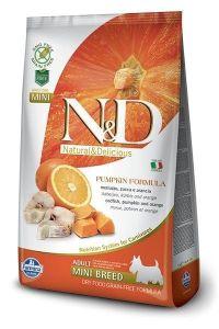 Farmina Dog N&D Pumpkin Codfish & Orange Adult Mini 7kg