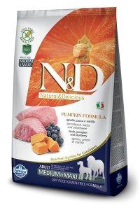 Farmina Dog N&D Pumpkin Lamb & Blueberry Adult Medium/Maxi Adult 2,5 kg