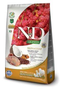 Farmina Dog N&D Quinoa Skin & Coat Quail Adult All Breeds 7kg