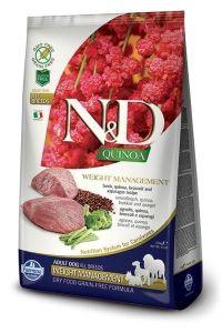 Farmina Dog N&D Quinoa Weight Management Lamb Adult All Breeds 2,5kg
