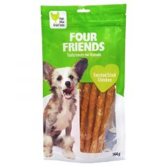 Four Friends Twisted Stick Chicken 25cm x 5stk