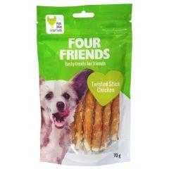 Four Friends Twisted Stick kylling 12,5cm x 7stk