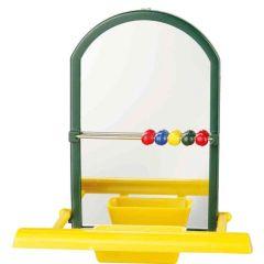 Trixie speil med sittepinne og kuler