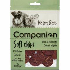 Companion Soft Chips Okse & hjerte 80g