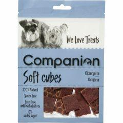 Companion Soft Cubes Oksehjerte 80g