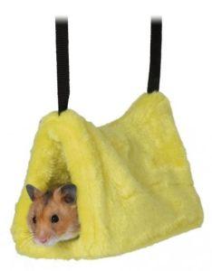 Hamsterhule i plysj