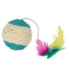 Kerbl katteleke ball med sisal 6cm