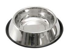 Mat & vannskål rustfri anti-slip 450 ml
