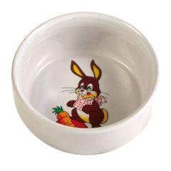 Matskål Kanin med motiv 11 cm