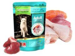 Natures Menu Chicken with Salmon & Tuna 100g