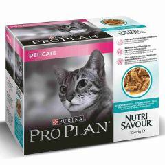 Pro Plan Cat Delicate Ocean Fish 10 pack