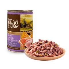 Sam's Field Våtfôr Laks & kylling med Gresskar 400g