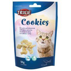 Trixie kattekjeks med laks og catnip 50g