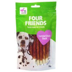 Four Friends Twisted Stick Duck 12,5cm x 7stk
