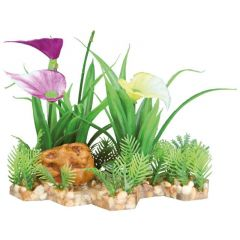 Kunstig Plante i grus 13cm