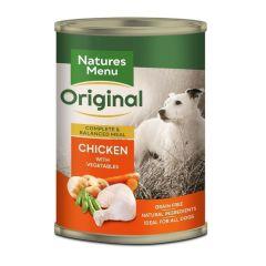Natures Menu Våtfor Kylling & Grønnsaker 400g