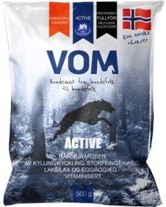 Vom Active proteinrikt fullfôr kjøttboller 0,56 kg