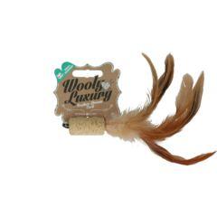 Wooly Luxury Feather Dream Cork Brun